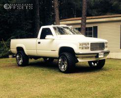 """1997 Chevrolet C2500 - 22x12 -44mm - Gear Off-Road Big Block - Suspension Lift 4"""" - 33"""" x 12.5"""""""