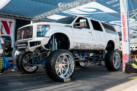 """2005 Ford Excursion - 30x16 -112mm - American Force Genesis - Lifted >12"""" - 42"""" x 16.5"""""""