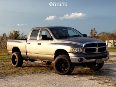 2005 Dodge Ram 2500 - 20x12 -44mm - Gear Off-Road Big Block - Stock Suspension - 305/50R20