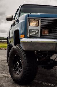 "1986 Chevrolet K20 - 16x8.5 -6mm - Mb Wheels 352 - Suspension Lift 6"" - 315/75R16"