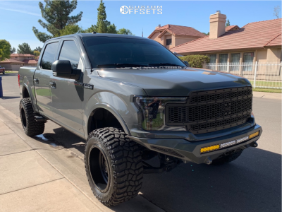 "2018 Ford F-150 - 20x12 -44mm - XD Xd136 - Suspension Lift 6"" - 35"" x 13.5"""