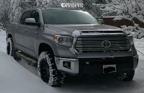 "2016 Toyota Tundra - 20x8.5 10mm - Black Rhino Chase - Leveling Kit - 35"" x 11.5"""