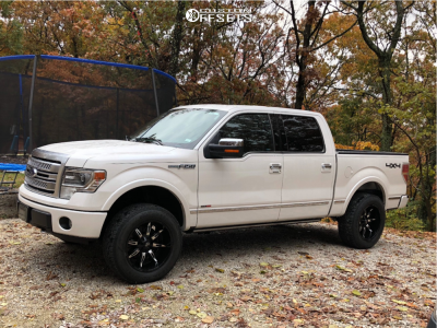 2014 Ford F-150 - 20x10 -25mm - Vision Manic - Leveling Kit - 275/60R20