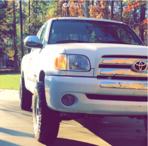 2003 Toyota Tundra - 16x7 15mm - Spaced Out Stockers Spaced Out Stockers - Leveling Kit - 285/75R16