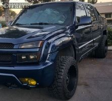 """2003 Chevrolet Avalanche - 20x12 -44mm - Red Dirt Road Rd01 - Leveling Kit - 33"""" x 12.5"""""""