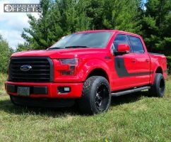 2016 Ford F-150 - 20x12 -44mm - Fuel Maverick - Stock Suspension - 305/50R20
