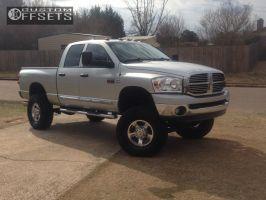 "2008 Dodge Ram 2500 - 17x8 18mm - Stock Stock - Suspension Lift 6"" - 37"" x 12.5"""