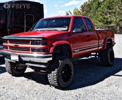 "1998 Chevrolet K1500 - 20x12 -44mm - Fuel Hostage - Suspension Lift 7"" - 35"" x 12.5"""