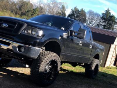 Fuel Maverick 22x12 -44