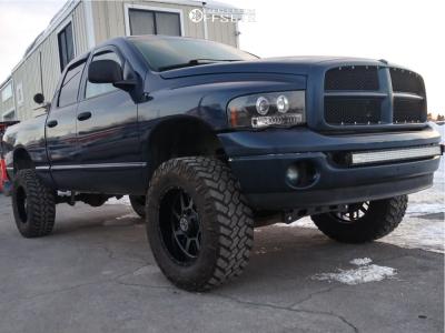 "2003 Dodge Ram 1500 - 20x10 -24mm - Anthem Off-Road Gunner - Suspension Lift 5"" - 37"" x 12.5"""