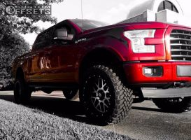 "2015 Ford F-150 - 22x10 -24mm - XD XD820 - Suspension Lift 6"" - 35"" x 12.5"""