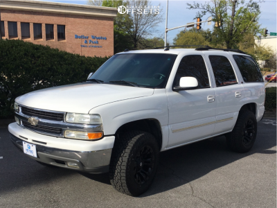 2004 Chevrolet Tahoe - 18x9 12mm - Fuel Vapor - Leveling Kit - 275/65R18