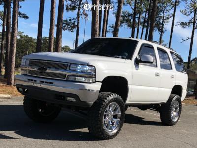 "2003 Chevrolet Tahoe - 20x9 27mm - Oe Performance 169 - Suspension Lift 6"" - 35"" x 12.5"""