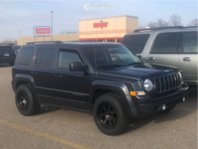 Custom Jeep Patriot >> 2015 Jeep Patriot Mayhem Prodigy Stock Stock | Custom Offsets
