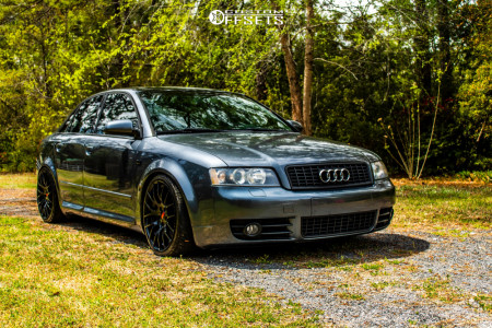 2004 Audi S4 - 18x8.5 35mm - Alzor 030 - Coilovers - 215/35R18