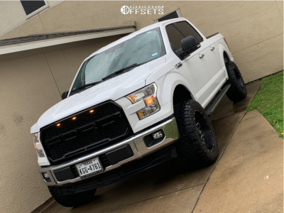 """2017 Ford F-150 - 20x9 1mm - Fuel Lethal - Suspension Lift 4.5"""" - 33"""" x 12.5"""""""