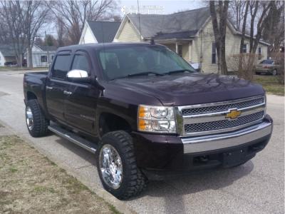 "2008 Chevrolet Silverado 1500 - 20x12 -44mm - RBP 73r - Suspension Lift 3"" - 33"" x 12.5"""