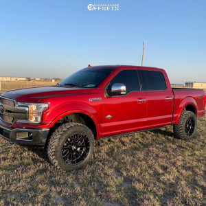 """2018 Ford F-150 - 20x10 -19mm - Axe Offroad Ax2.0 - Leveling Kit - 33"""" x 12.5"""""""