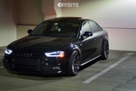 2015 Audi S4 - 20x10 35mm - Stance Sf-01 - Coilovers - 255/30R20