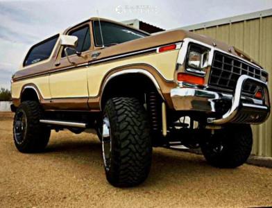 "1979 Ford Bronco - 22x14 -76mm - XD Diesel - Suspension Lift 7.5"" - 37"" x 13.5"""