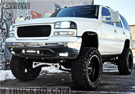 "2005 GMC Yukon - 22x11 -24mm - Fuel Krank - Suspension Lift 9"" - 37"" x 13.5"""
