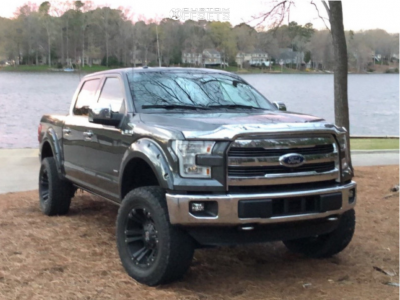 """2015 Ford F-150 - 20x10 -24mm - Xd Monster Ii - Suspension Lift 6"""" - 35"""" x 13.5"""""""