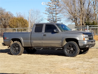 "2006 Chevrolet Silverado 1500 - 20x9 18mm - XD Monster - Body Lift 3"" - 35"" x 12.5"""