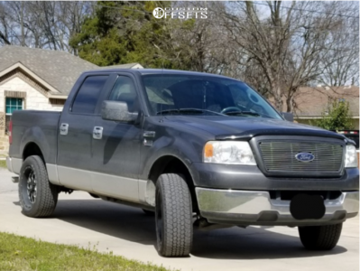 2005 Ford F-150 - 20x9 0mm - XD Xd820 - Leveling Kit - 275/55R20