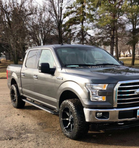 2017 Ford F-150 - 20x10 -12mm - Fuel Coupler - Leveling Kit - 285/55R20