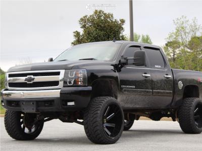 "2008 Chevrolet Silverado 1500 - 24x14 -81mm - ARKON OFF-ROAD Lincoln - Suspension Lift 6.5"" - 35"" x 13.5"""