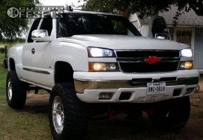 "2003 Chevrolet Silverado 1500 - 20x10 0mm - Helo He791 - Suspension Lift 9"" - 37"" x 12.5"""