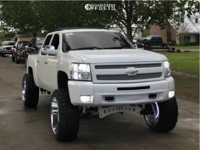 "2013 Chevrolet Silverado 1500 - 26x14 -72mm - Tuff T2a - Suspension Lift 9"" - 37"" x 13.5"""