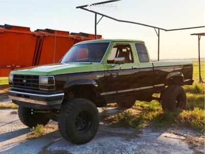 "1989 Ford Ranger - 15x12 -44mm - Bart Super Trucker - Suspension Lift 8"" - 33"" x 12.5"""