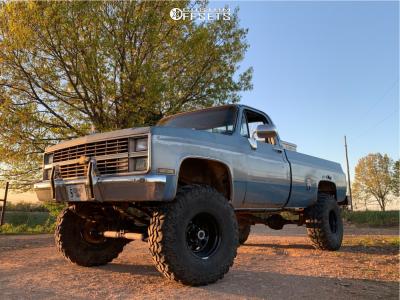 """1982 Chevrolet K10 - 15x10 -43mm - Pro Comp Series 51 - Suspension Lift 6"""" - 37"""" x 12.5"""""""