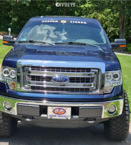 "2013 Ford F-150 - 20x10 -25mm - Cali Offroad Americana - Suspension Lift 6"" - 35"" x 12.5"""