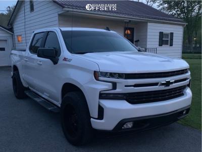 2019 Chevrolet Silverado 1500 - 20x10 -19mm - Gear Off-Road Big Block - Stock Suspension - 275/60R20