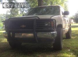 "1988 Chevrolet K1500 - 16x8 2mm - Pro Comp 52 - Stock Suspension - 33"" x 10.5"""