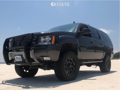 "2015 Chevrolet Suburban - 20x9 1mm - Fuel Boost - Suspension Lift 6"" - 35"" x 12.5"""
