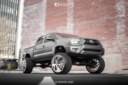 """2013 Toyota Tacoma - 24x14 -76mm - Specialty Forged Sf35 - Suspension Lift 7.5"""" - 33"""" x 14.5"""""""