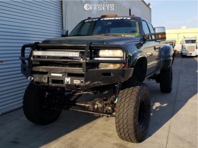 "2001 Chevrolet Silverado 3500 - 17x9 -19.05mm - Pro Comp Series 97 - Lifted >12"" - 40"" x 13.5"""