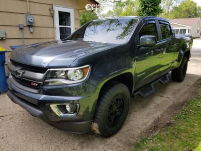 """2019 Chevrolet Colorado - 17x8 20mm - XD Rockstar 3 - Suspension Lift 3.5"""" - 265/70R17"""
