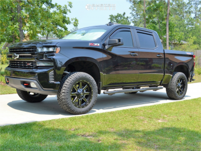 2019 Chevrolet Silverado 1500 - 20x9 1mm - Fuel Maverick - Leveling Kit - 305/55R20
