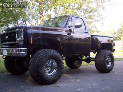 """1977 Chevrolet K10 - 15x14 -88.9mm - Rock Crawler Extreme Series 99 - Lifted >9"""" - 40"""" x 18.5"""""""