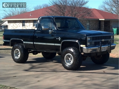 "1983 Chevrolet K10 - 15x10.5 -48mm - Mickey Thompson Beadlock - Suspension Lift 4"" - 35"" x 12.5"""