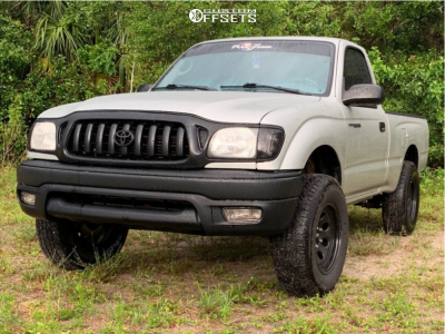 """2001 Toyota Tacoma - 15x7 0mm - Pacer Soft 8 - Suspension Lift 3"""" - 235/75R15"""