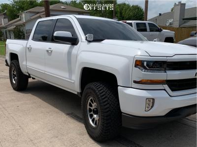 "2018 Chevrolet Silverado 1500 - 18x9 18mm - Method Nv - Suspension Lift 3.5"" - 35"" x 12.5"""