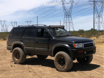 "1998 Toyota 4Runner - 17x9 -12mm - Moto Metal Mo971 - Suspension Lift 3"" - 285/70R17"