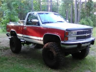 "1992 Chevrolet K1500 - 16x8 0mm - Pro Comp Series 31 - Suspension Lift 6"" & Body 3"" - 385/70R16"