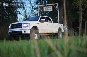 """2014 Ford F-150 - 20x12 -44mm - Fuel Full Blown - Suspension Lift 6"""" - 35"""" x 12.5"""""""