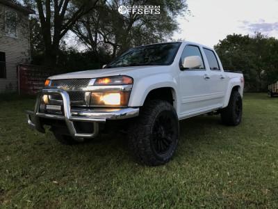 """2010 Chevrolet Colorado - 18x9 18mm - MB Tko - Suspension Lift 2.5"""" - 305/60R18"""